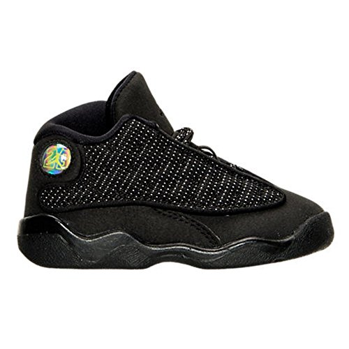 Jordan 916909-011 Air Jordan Retro 13 Black Cat Mid Infant Toddler by NIKE