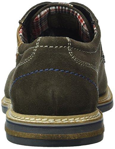Bugatti 311183021400, Zapatos de Cordones Derby para Hombre Marrón (taupe 1400taupe 1400)