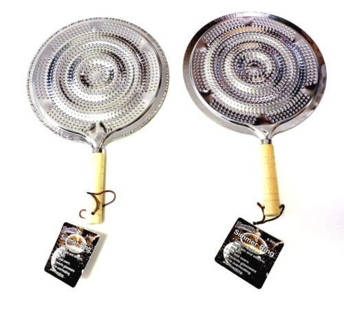 UPC 097958000763, 2 Pack Flame Tamer Stovetop Simmer Ring Aluminum Heat Diffuser Gas Electric Range