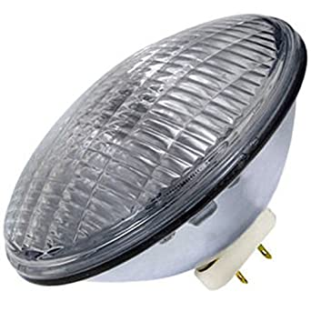 GE 39412 - 500 PAR64/WFL - 500 W - PAR64 - Wide Flood - incandescente - Haz de sellado - 2.000 horas - 13.000 Bujías - 2800 Kelvin: Amazon.es: Iluminación