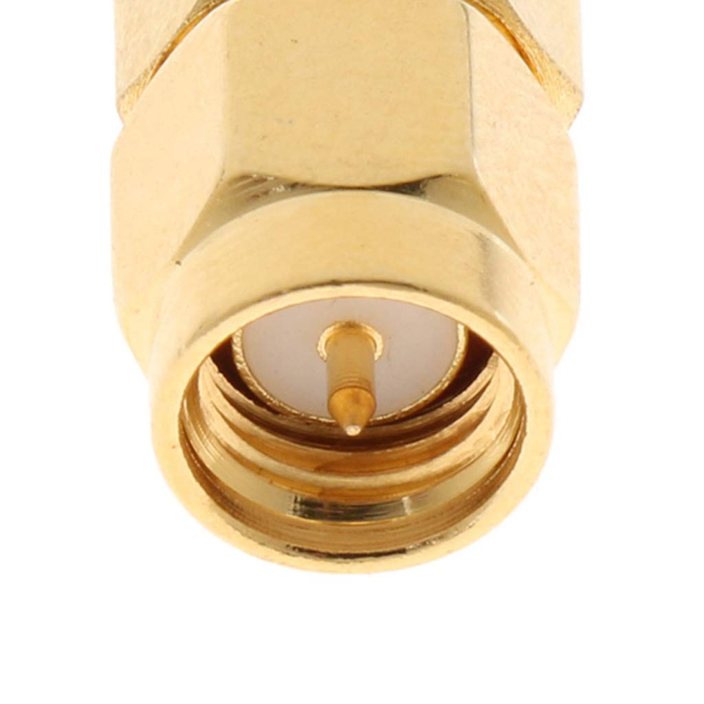 1pce Adapter Connector MCX female jack to MCX female jack straight for wireless
