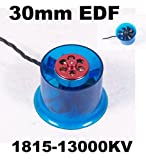 ducted fan brushless - Mystery EDF Plus HL3008 1815-13000KV Brushless Motor 30mm EDF Ducted Fan Power System