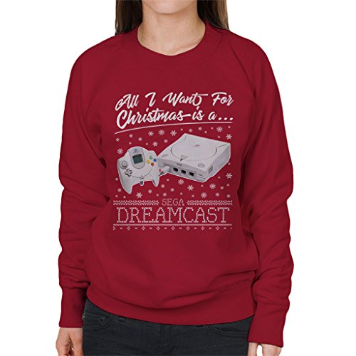 Price comparison product image All I Want for Christmas is A Dreamcast Women's Sweatshirt