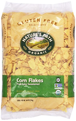 - Nature's Path Organic Corn Flakes Cereal, 26.4 oz Eco Pac Bags