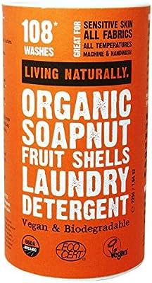 LIVING NATURALLY - Bayas de Sapindus Mukorossi - Detergente para ...