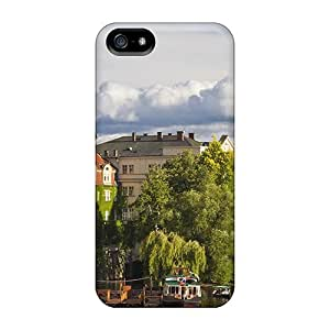 High-quality Durability For Ipod Touch 4 Phone Case Cover (spectacular City View)