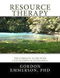 Resource Therapy, Gordon Emmerson, 0992499518