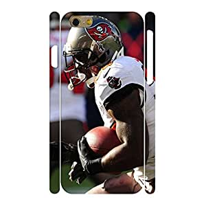Creative Sports Series Print Football Athlete Action Pattern Hard Plastic Phone Skin for Iphone 6 Case - 4.7 Inch