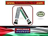 Palestine Flag Scarf Jerusalem 50-200 KEFFIYEH Arab Shemagh Scarf,Arafat فلسطين AL-AQSA Gaza الاقصى Ramadan Quran Wedding Gift Wholesale Muslim Islamic GITS 123 ☪☪ Fast Delivery-USA Seller ☪☪ (50)