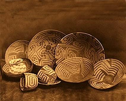 Amazon.com: 11 x 14 Old Tin Metal Signs Pima Baskets Native American ...