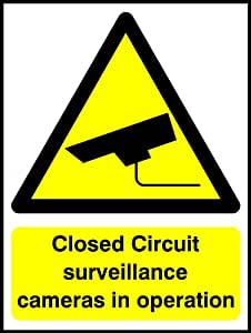 500mmx375mm CCTV (plástico señal)