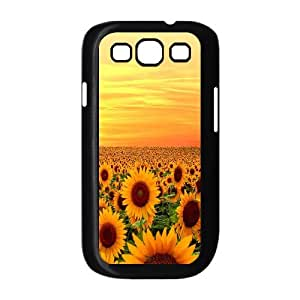 High Quality {YUXUAN-LARA CASE}Sunflowers in The Sun For Samsung Galaxy S3 STYLE-9