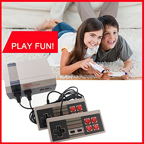 CONSOLES VIDEO GAMES , 2018 PLATINIUM TECH BUILT IN 620 VIDEO GAMES CONSOLES, (AV OUT CABLE), CHILDREN GIFT , BIRTHDAY GIFT (Retro Video)