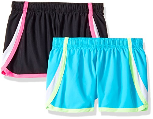 Hanes Big Girls' Sport Woven Performance Running Short , Coo