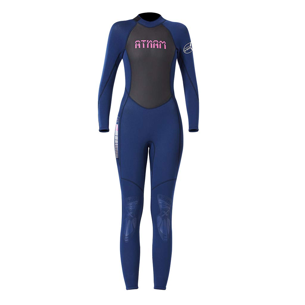Women's Keep Warm Sunscreen Swimming,Surfing and Snorkeling Diving Coverall Suit by LUXISDE (Image #8)