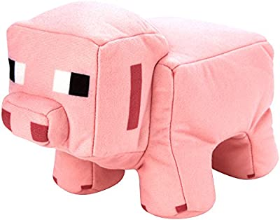 Minecraft Reversible Plush, Pig to Porkchop