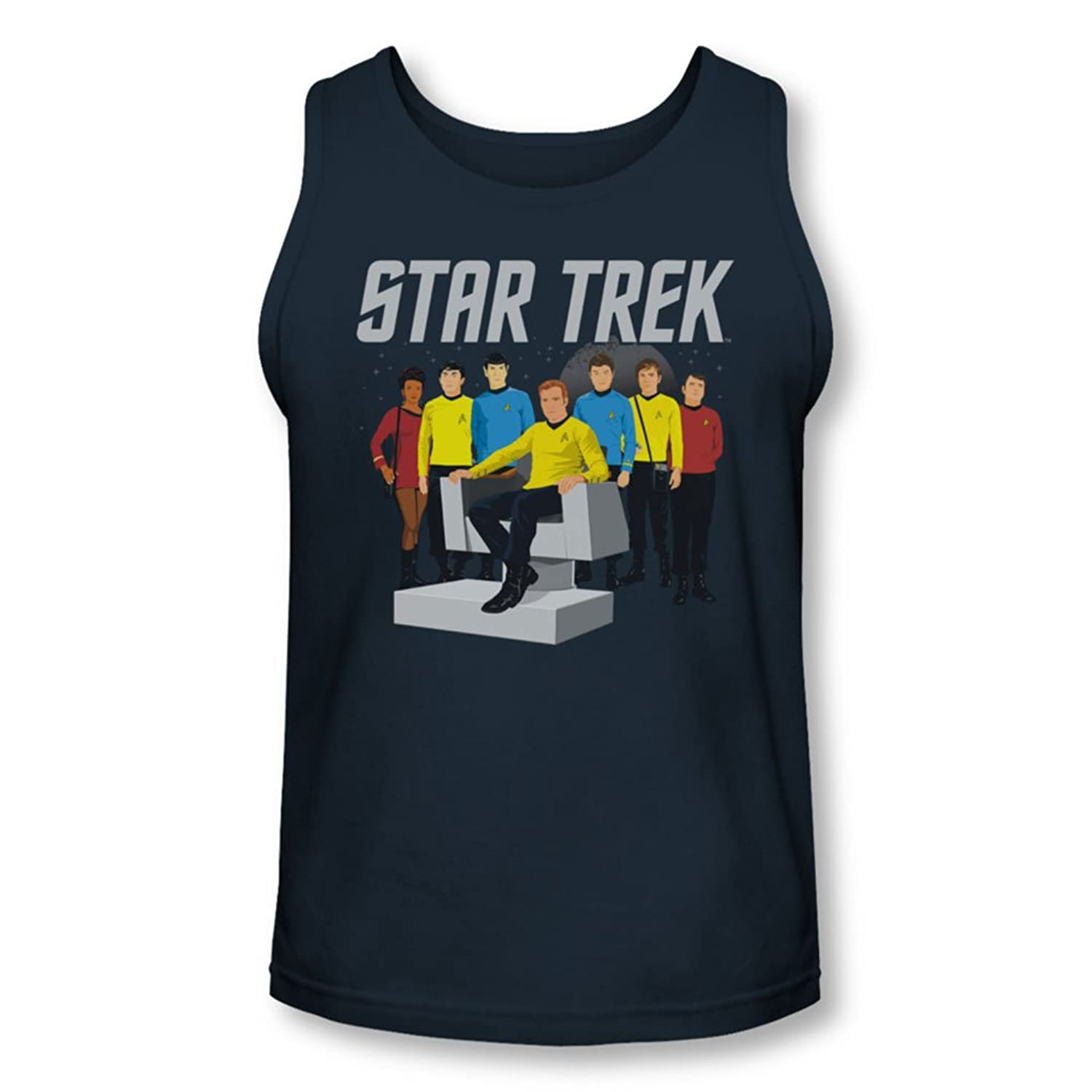Star Trek - Mens Vector Crew Tank-Top