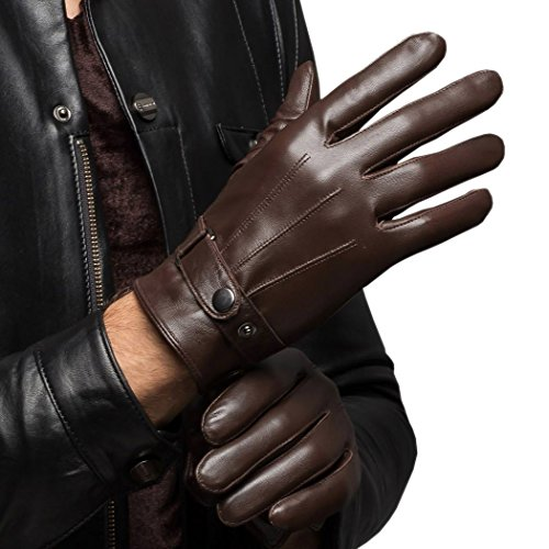 CASF Men's Warm Lambskin Genuine Leather - Mens Leather Dress Gloves Shopping Results