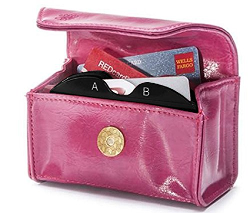 CARD CUBBY Wallet Organizer - PASSION PINK by Card Cubby