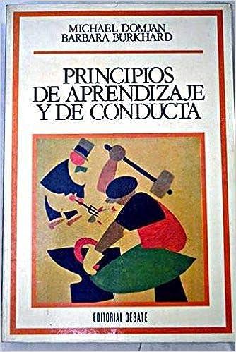 libro principios de aprendizaje y conducta.domjan