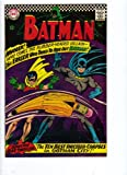 Batman #188 1st Appearance of The Eraser Silve Age
