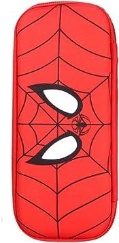 Jiji Estuche Estuche de lápices Grande for niños Estuche de lápices Batman Superman Hero Series Estuche de lápices Capitán América Papelería Estuche de lápices Útiles Escolares Estuches de Lápices: Amazon.es: Electrónica