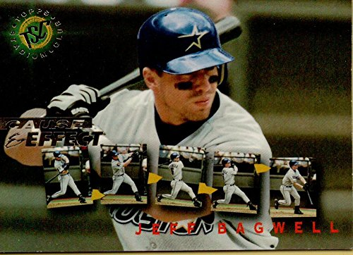 1995 Topps Stadium Club First Day Issue #240 Jeff Bagwell CE - Day Issue First Club Stadium