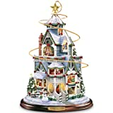 Thomas Kinkade The Night Before Christmas Tabletop Centerpiece by The Bradford Exchange