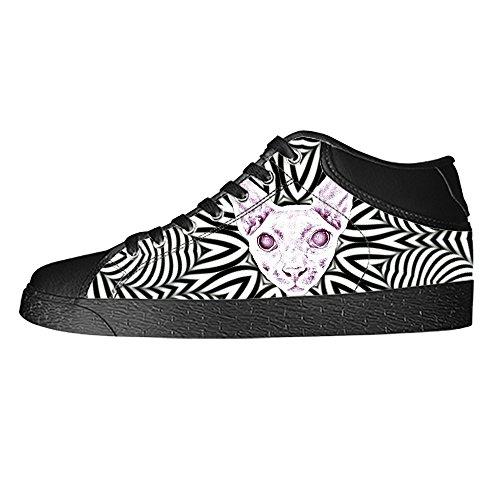 Dalliy kunst katze Men's Canvas shoes Schuhe Lace-up High-top Sneakers Segeltuchschuhe Leinwand-Schuh-Turnschuhe