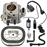 460 coil - Harbot MS460 Carburetor Carb with Ignition Coil Tune Up Kit for Stihl 044 046 MS440 MS 460 Chainsaw Parts