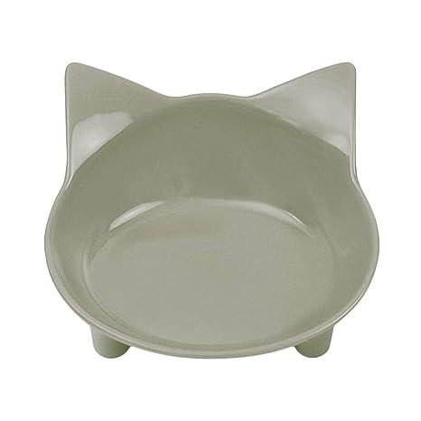 Morza Platos de Las Mascotas Cuencos Comida para Gatos Cuencos de Agua Cat Ancho y Poco