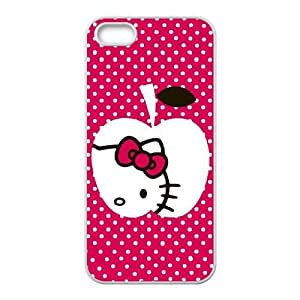 Hello Kitty Peek A Boo iPhone 5 5s Cell Phone Case White Delicate gift AVS_635541