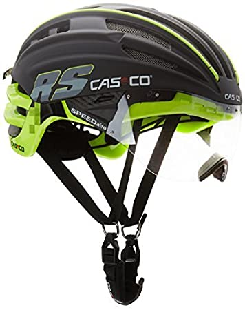Casco Speed Airo RS Adults Helmet Multi-Coloured Schwarz/Neon Size:M