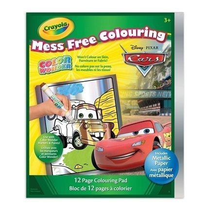 - Crayola Color Wonder Disney Pixar Cars Coloring Pad