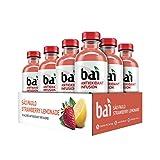 Bai Flavored Water, São Paulo Strawberry Lemonade, Antioxidant Infused Drinks, 18 Fluid Ounce Bottles, 12 count