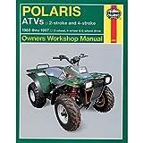 HAYNES 2302 REPAIR SERVICE MANUAL POLARIS ATVS (ALL) 1985-1997