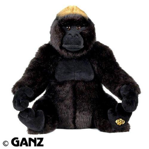 Webkinz Endangered Signature Western Lowland Gorilla with Trading Cards