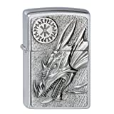 Zippo 2002726 Lighter 200 Dragon with Amulet
