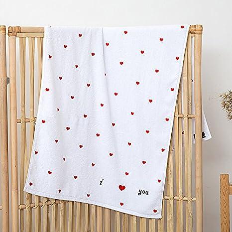 SQYJ toallas, algodón, adultos, suaves, superabsorbentes, hombres y mujeres, de