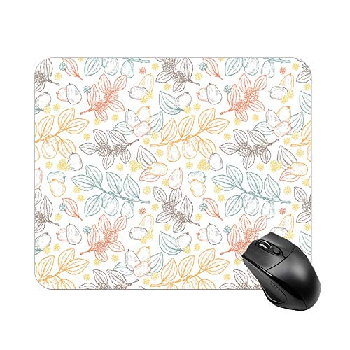 Uclipers Mouse Pad with Unusual Gemstone Onyx Rock, Gaming Speed Version Medium Cloth Cute Mouse Pad, Non-Slip Rubber Base Mousepad, for Laptop, Computer, PC, Keyboard -