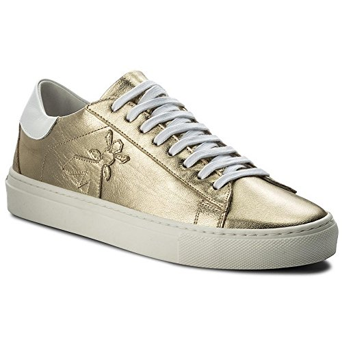 Taille 2V7959 SNEAKERS AQ22 EN Patrizia 36 LAMÉ Pepe CUIR XRqnw0z
