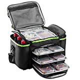 Cooler Bag insulated By Outdoorwares: Large Capacity Bag Durable, Insulated Tote To Keep Foods And Drinks In The Right Temperature – Good for Travel, Picnic, Beach Hiking, Camping ETC.