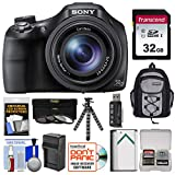 Cheap Sony Cyber-Shot DSC-HX400V Wi-Fi Digital Camera with 32GB Card + Backpack + Battery/Charger + Flex Tripod + 3 Filters Kit