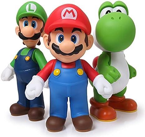 Amazon Com New 3pcs Nintendo Super Mario Bros Luigi Mario