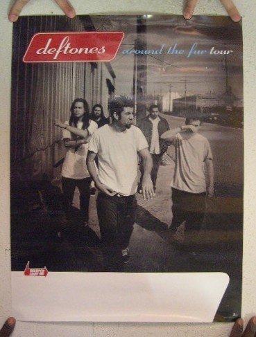 Deftones Poster Around The Fur Tour