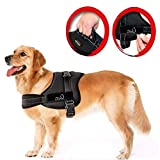 LIFEPUL No Pull Dog Vest Harness - Dog Body Padded Vest - Comfort Control for Large Dogs in Training Walking - No More Pulling, Tugging or Choking (M)