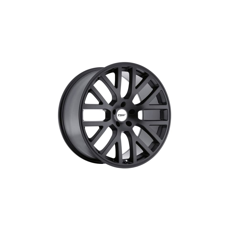 TSW Donington 19 Black Wheel / Rim 5x4.5 with a 20mm Offset and a 76 Hub Bore. Partnumber 1980DON205114M76
