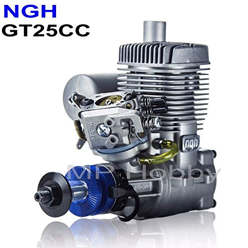 Kamas NGH Gasoline Engines 2 Stroke NGH GT25cc Gas Petrol Engines for RC Airplane Multicopter Drone Motor