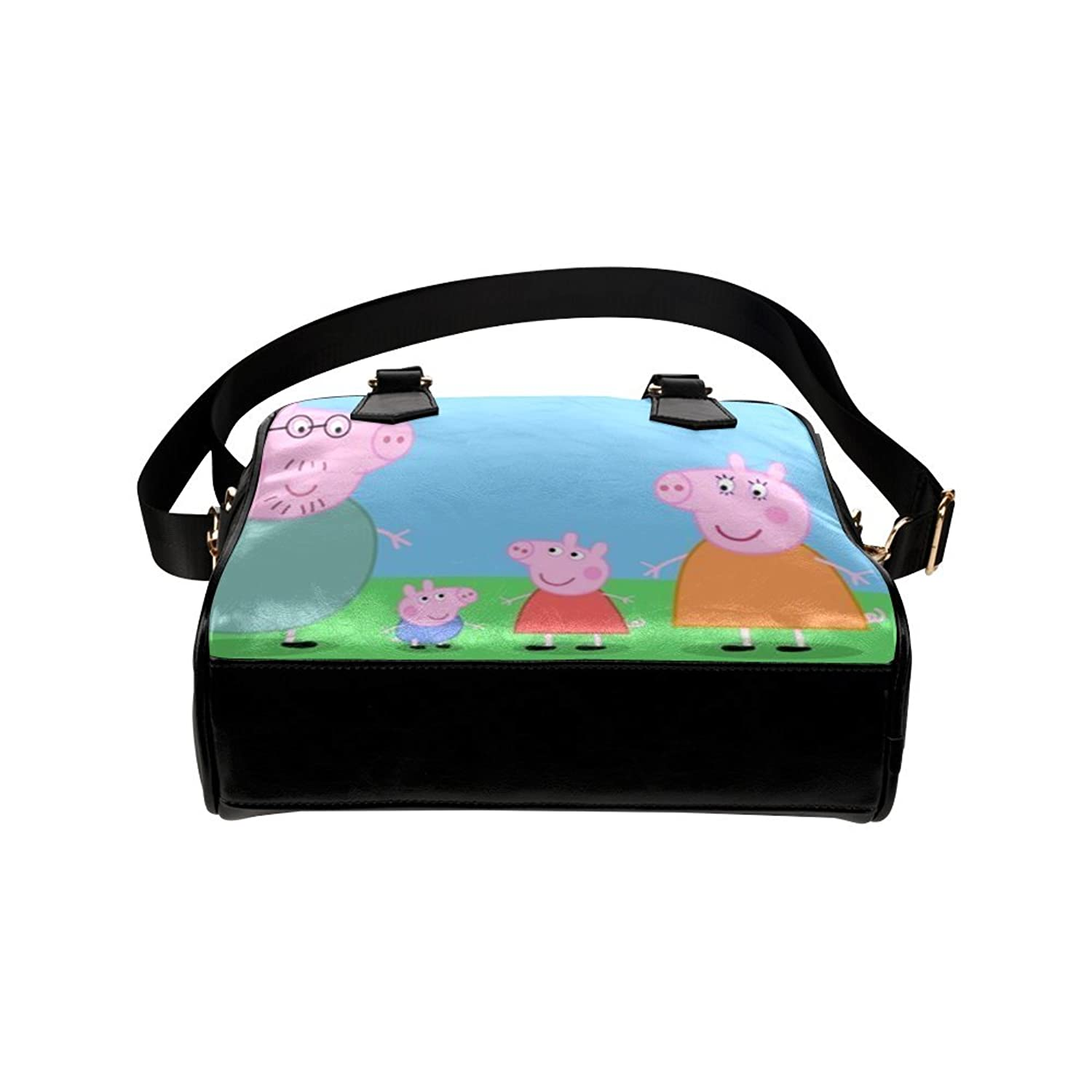 Angelinana Custom Women's Handbag Cute Peppa Pig 1 Fashion Shoulder Bag