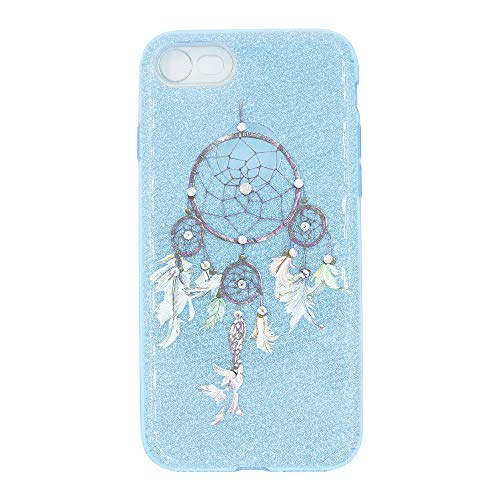 Bliss Brands Fashion Gradient Glitter Cell Phone Case (Blue, 8G)